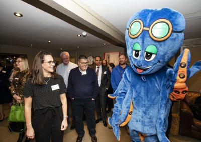 CJ at Octopus Event