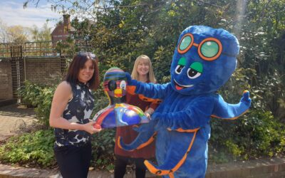CJ's Diary: Meeting Ollie and the team at Children in Care!