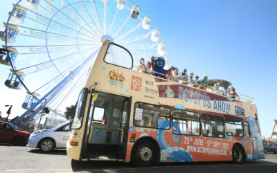 The Launch of the Clacton Breeze 'Octo-Bus'!