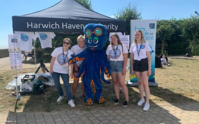 CJ's Diary: Saving the Sea at Harwich Haven Authority's Beach School!
