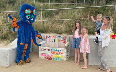 CJ's Diary: Checking Out UnSealed's new Beach Toy Library